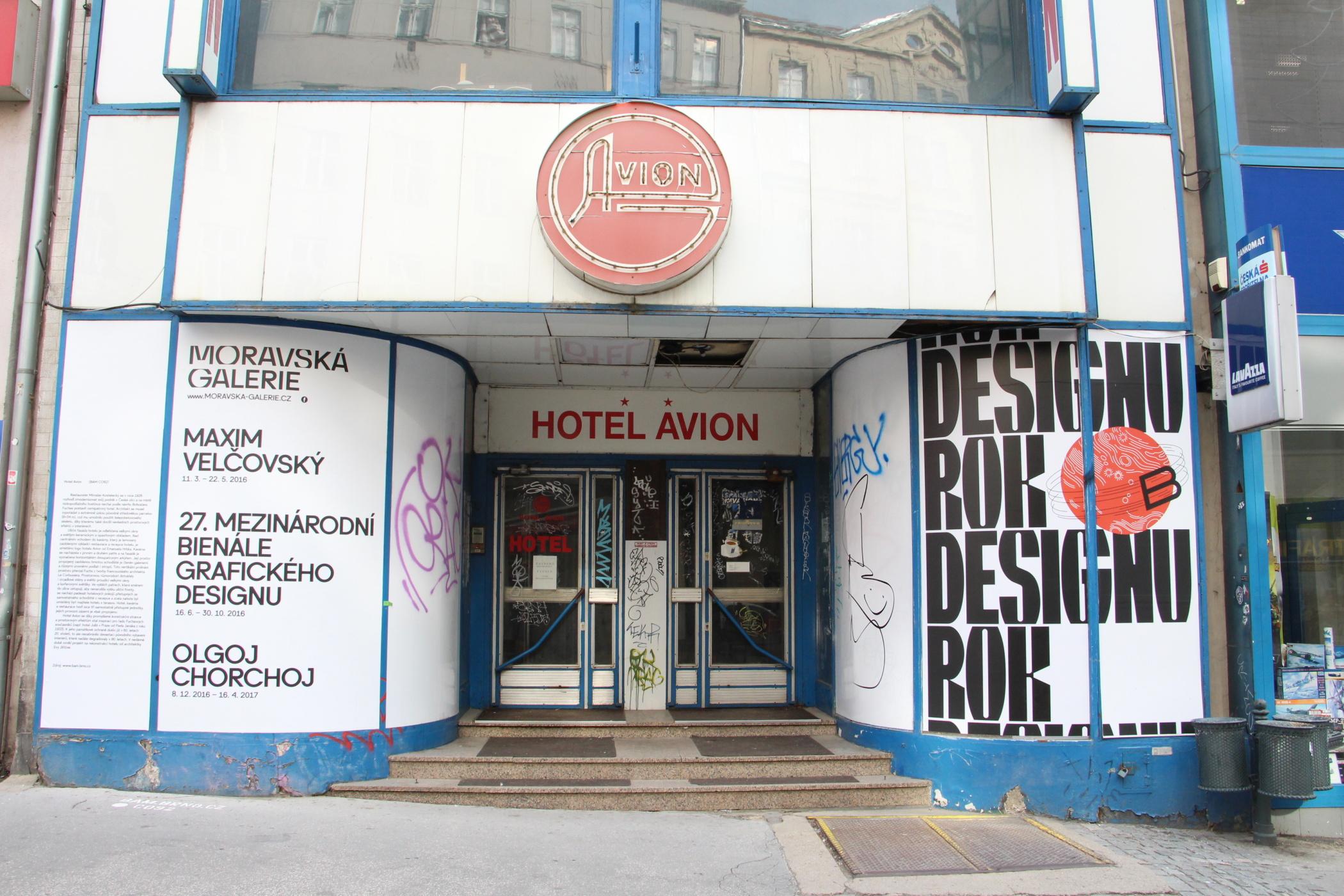 Funkcionalistický hotel Avion v centru Brna čeká rekonstrukce