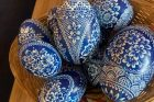 Velikonoční vajíčka z Borkovan