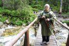 Hana Slabáková na túře ve Vysokých Tatrách