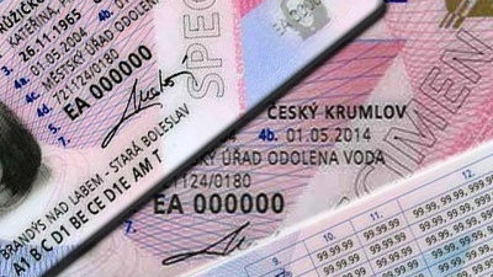 Řidičský průkaz (ilustrační foto)