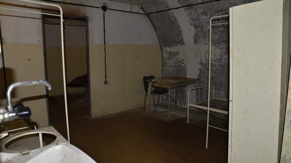 Podzemní srub sloužil i v 70. letech jako pracoviště tajných služeb