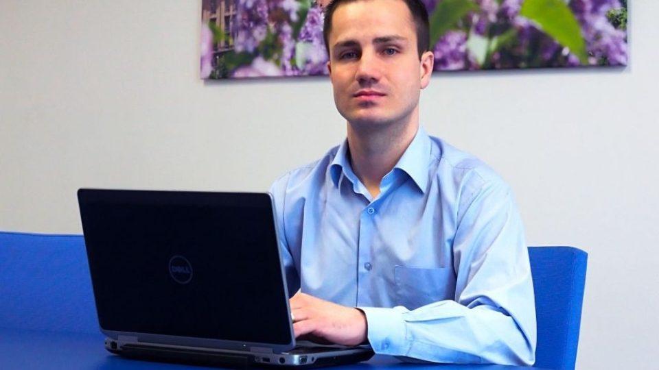 Radek Štourač, autor softwaru, který umí rozeznat člověka podle chůze