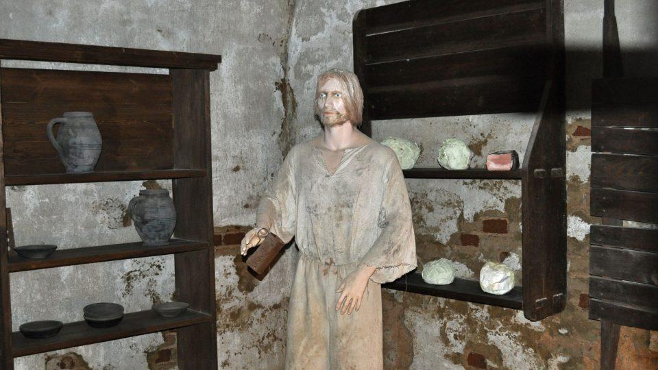 Jídlo pro vězně se připravovalo ve speciální kuchyni