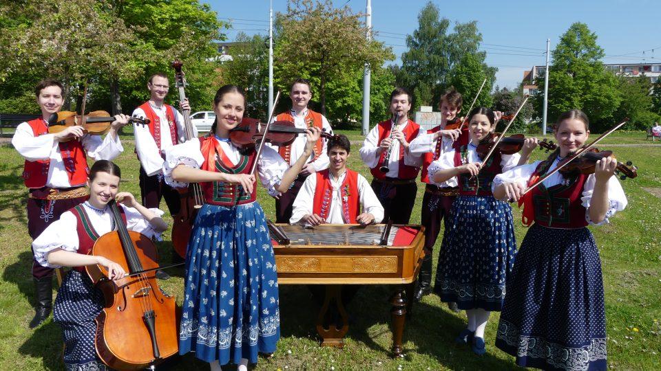 Cimbálová muzika Valašského souboru Kašava