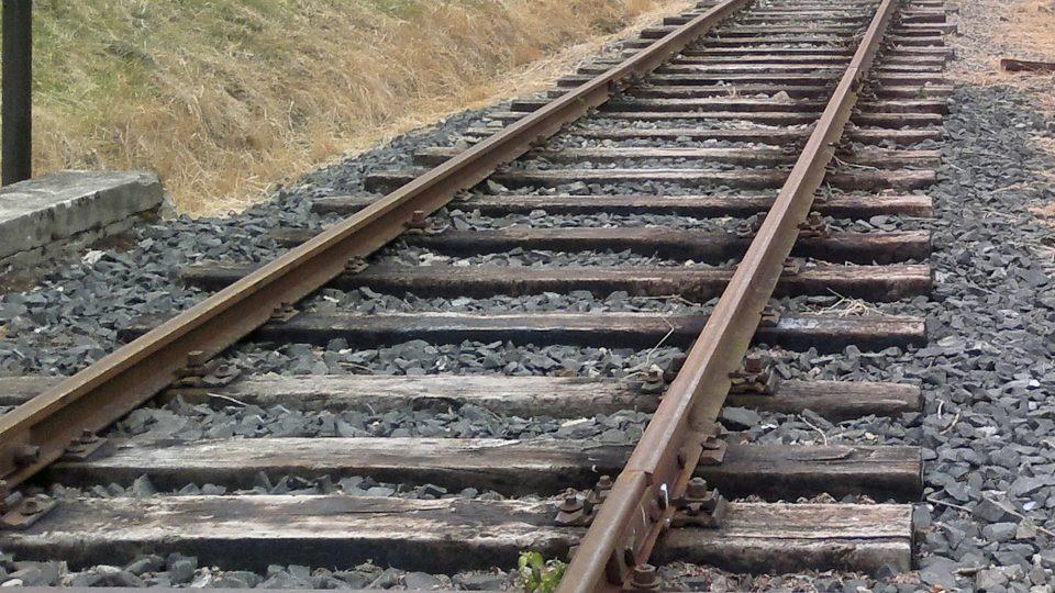 Kolejiště takzvané regionální trati