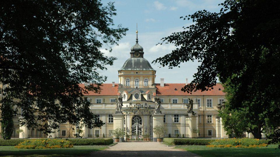 Zámek Hořovice z parku