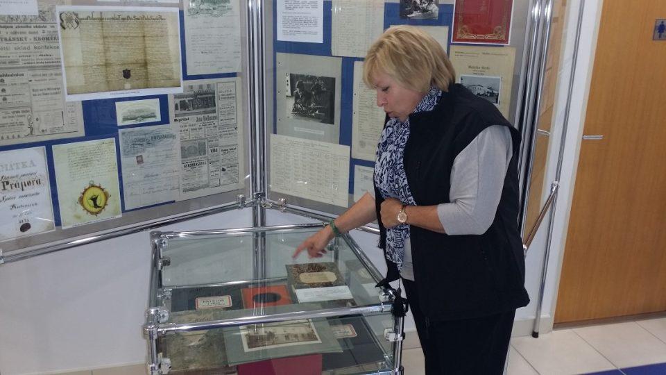 Jitka Zezulová-spoluautorka výstavy