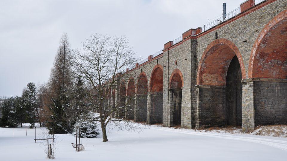 Historické viadukty v Hranicích na Přerovsku