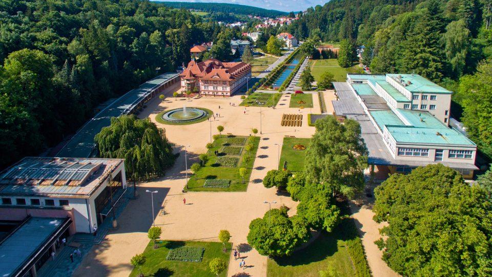 Lázně Luhačovice patří k nejnavštěvovanějším lázním na Moravě
