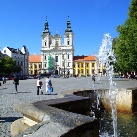 Uherské Hradiště náměstí