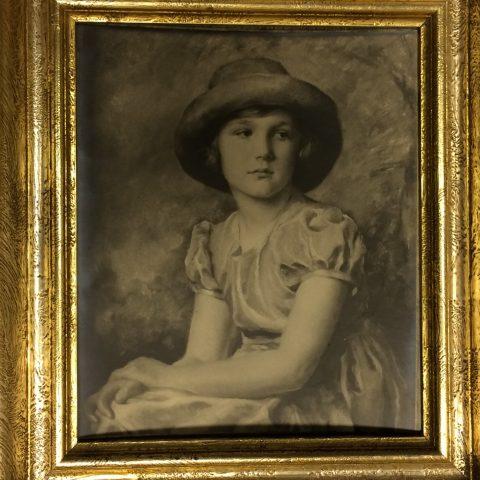 Portrét továrnické dcerky Suzanne Stiassni