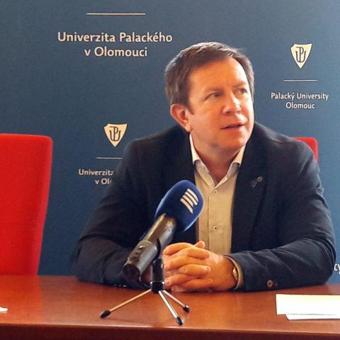 Jaroslav Miller, rektor UPOL