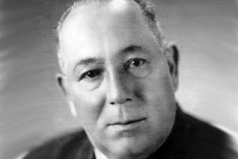 Jaroslav Marcha, výřez z fotografie, kterou poskytla jeho dcera Zdenka Laudátová