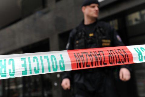 Policejní páska, policie, uzavírka (ilustrační foto)