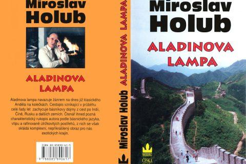 Obálka knížky Aladinova lampa.