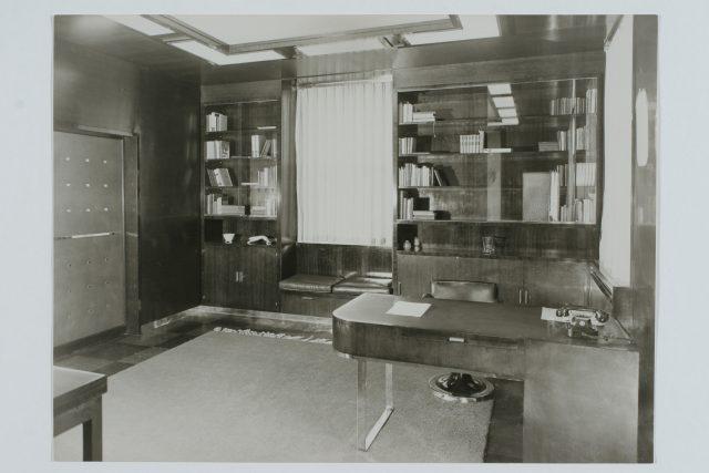 Archivní snímky z vily Jana Antonína Bati | foto: Krajská galerie výtvarného umění ve Zlíně