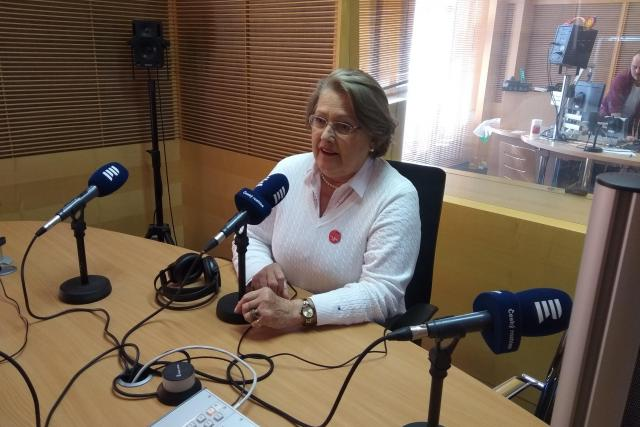 Vnučka Jana Antonína Bati Dolores Liliana Bata Arambasic ve studiu