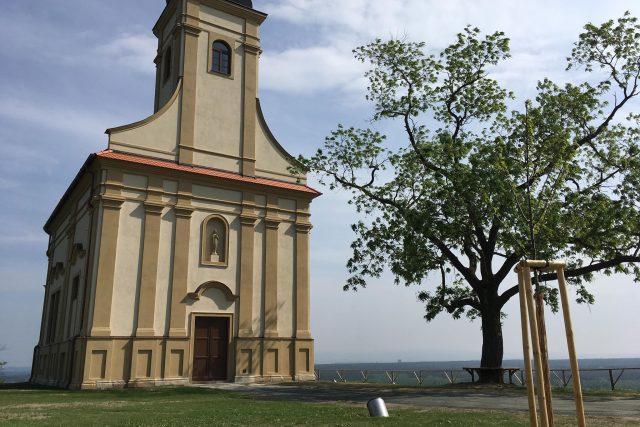 Kaple svatého Floriána a Šebestiána v Bzenci. | foto: Karolína Peřestá