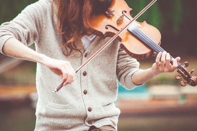 Hudebník, hudba, koncert (ilustrační foto)