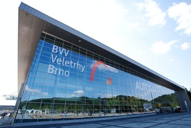 Nový pavilon P na brněnském výstavišti o rozloze dvou fotbalových hřišť