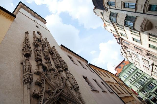 Brno - historické centrum.