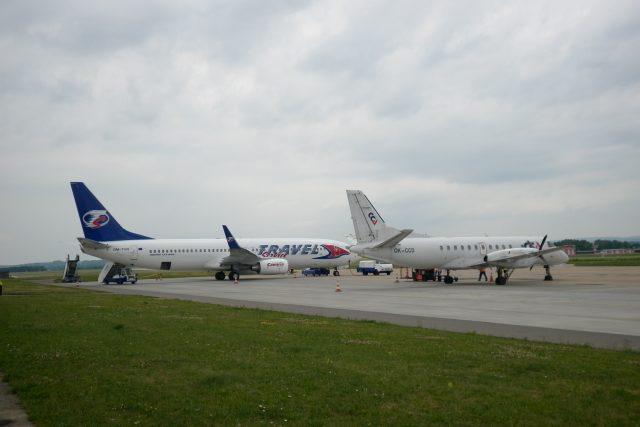 Spoj společnosti Utair bude na tuřanském letišti zatím přistávat létat třikrát týdně