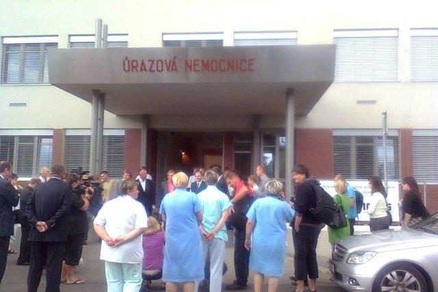 Čerstvě zateplená nemocnice