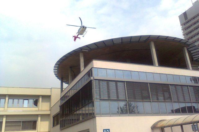 Fakultní nemocnice Brno-Bohunice - heliport