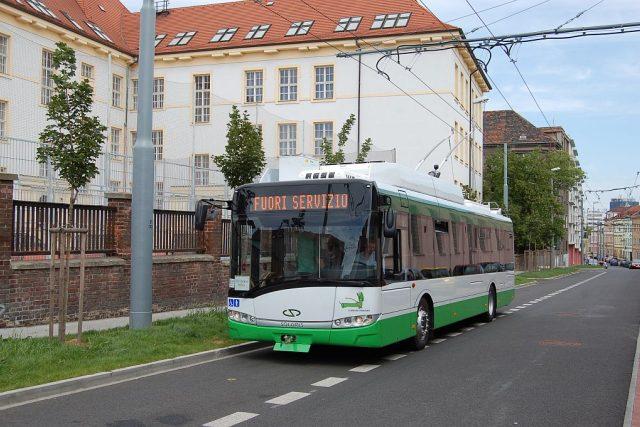 Nový trolejbus určený pro italské město Cagliari