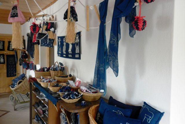 Výrobky z modrotisku