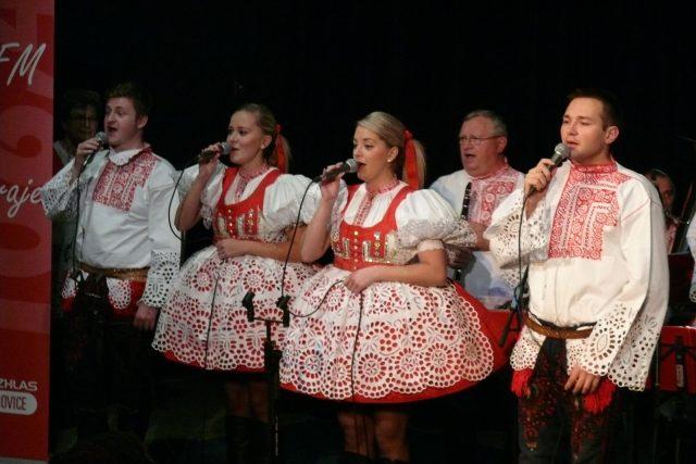 Slovácká dechová hudba Mistříňanka   foto: Miroslav Tichák