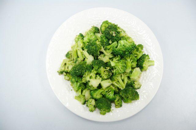 Nakrájená brokolice