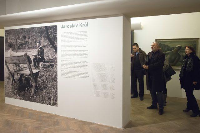 Z výstavy meziválečné malby Jaroslava Krále