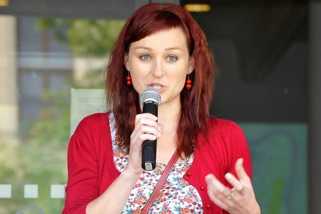 Spisovatelka Kateřina Tučková