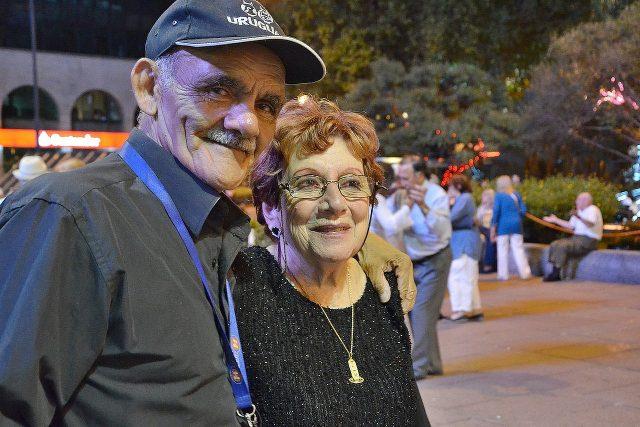 Daniel Prates a Graciela Otero organizují tango na náměstí už deset let | foto: David Koubek,  Český rozhlas