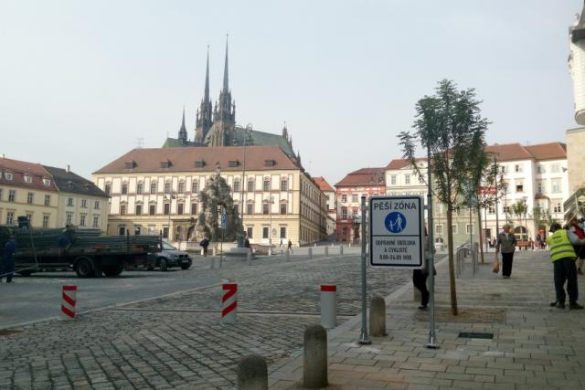 Po čtrnácti měsících se otevírá Zelný trh v historickém centru Brna