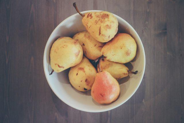 Hrušky,  ovoce,  mísa,  potraviny  (ilustrační foto)   foto: Fotobanka Pixabay