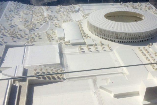 V Brně odtajnili model nového stadionu Za Lužánkami