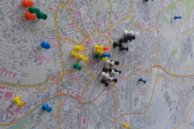Mapa Brna  (ilustrační foto) | foto: Tomáš Kremr,  Český rozhlas