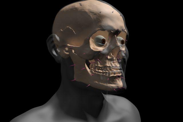 Jak vzniká tvář Jošta Lucemburského
