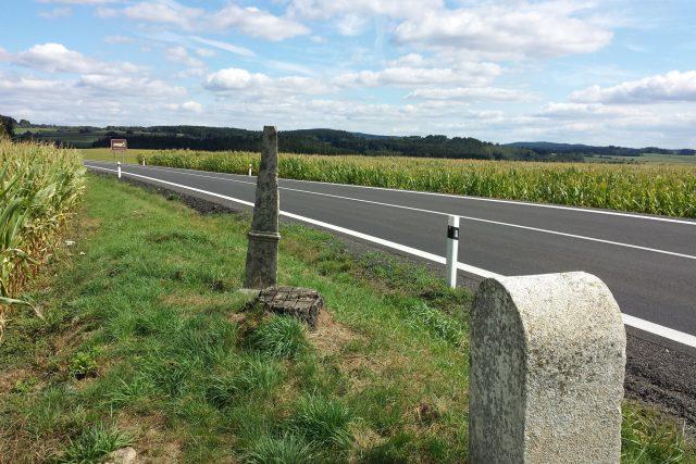 Českomoravská zemská hranice - pohled na Moravu | foto: Filip Černý,  Český rozhlas