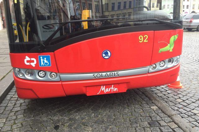 Dva nové trolejbusy, které můžou jet i mimo trolejové vedení, pořídil českobudějovický Dopravní podnik