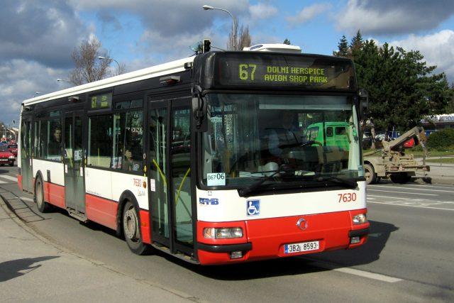 Autobus MHD Brno (ilustrační foto)
