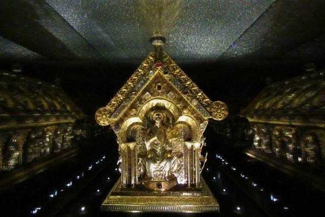 Relikviář svatého Maura  | foto: Pavel Halla
