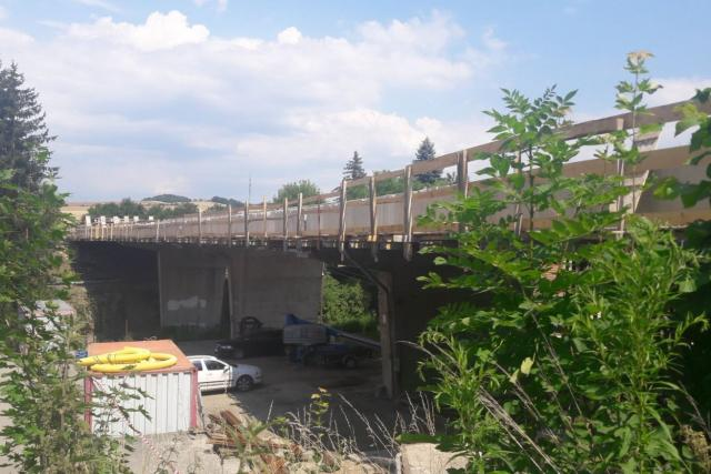 Most v Černé Hoře na Blanensku je v havarijním stavu.
