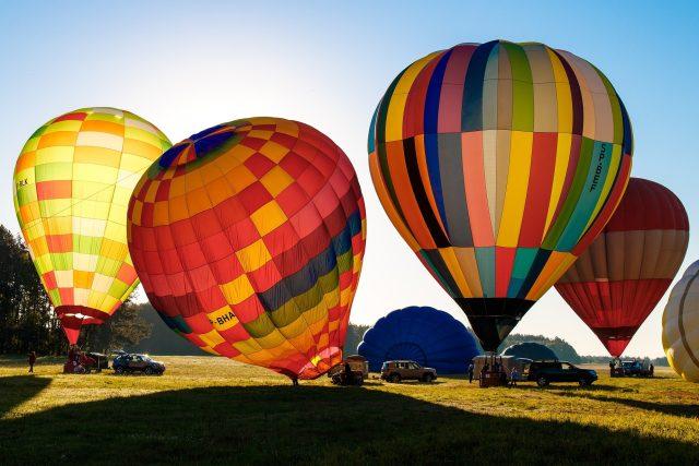 horkovzdušné balóny (ilustrační snímek)