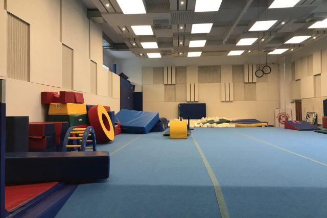 Nový sál pro děti do patnácti let.