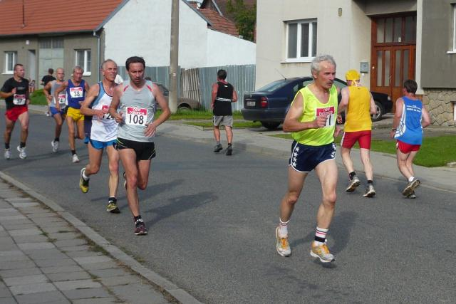 Josef Šohaj při běhu