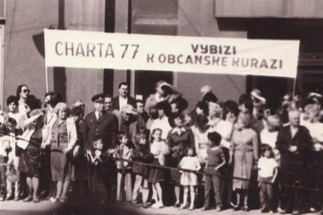 Z výstavy Charta 77   foto: Archiv Českého centra Moskva