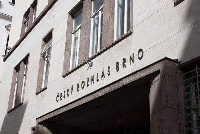 Nepřehlédnutelná budova Českého rozhlasu Brno na Beethovenově ulici jen minutu chůze od hlavního náměstí Svobody